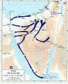 1967 Six Day War - conquest of Sinai 7-8 June.jpg